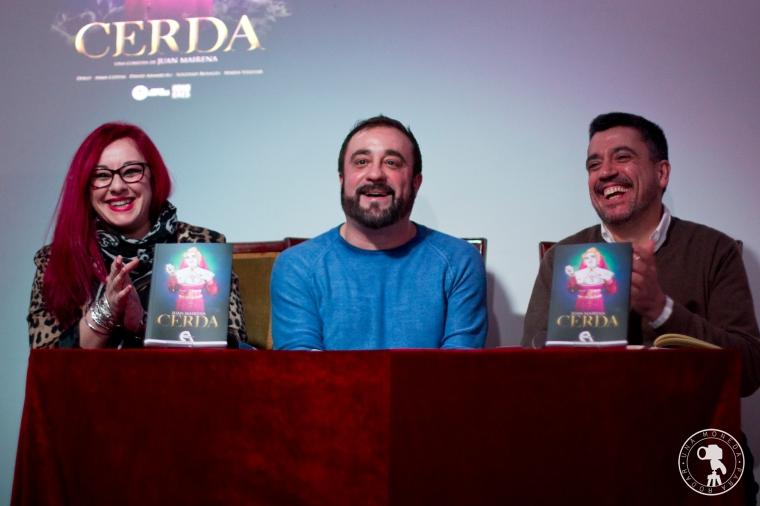 Presentación Cerda (Ediciones Antígona)