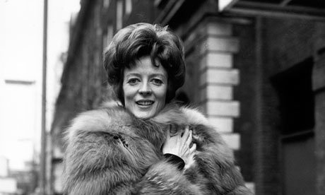 Una brechtiana brillante... Maggie Smith. Fotografía: A. Jones/Imágenes del Getty
